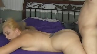 Big Tit MILF Charlee Chase Massaged and Fucked!