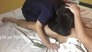 Pinay Massage Therapist gives an Extra Service Part 1